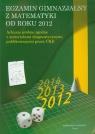 Egzamin gimnazjalny z matematyki od roku 2012