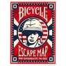 Karty Escape Map BICYCLE