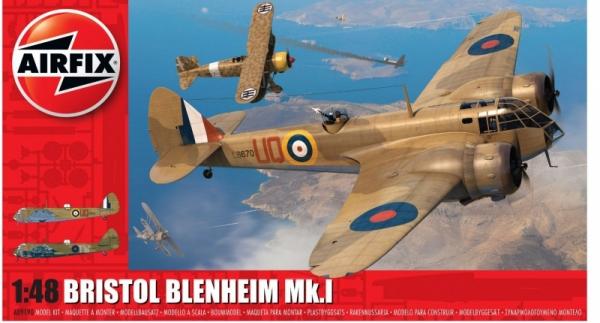 Model do sklejania Bristol Blenheim Mk.1 1/48 (09190)