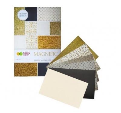 Blok effect Magnific Gold 150-230g HAPPY COLOR