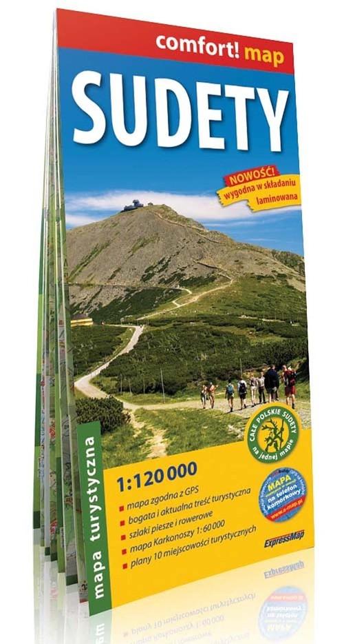 Sudety mapa turystyczna 1:120 000