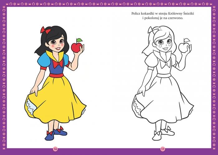 Kolorowanka dla dziewczynek A4 praca zbiorowa