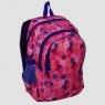 Plecak młodzieżowy różowy drobne kwiatki