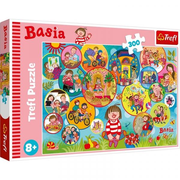 Puzzle 300 elementów Wesoły dzień Basi (23009)