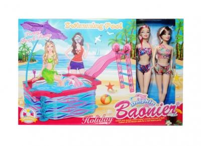 Lalka na basenie  160617