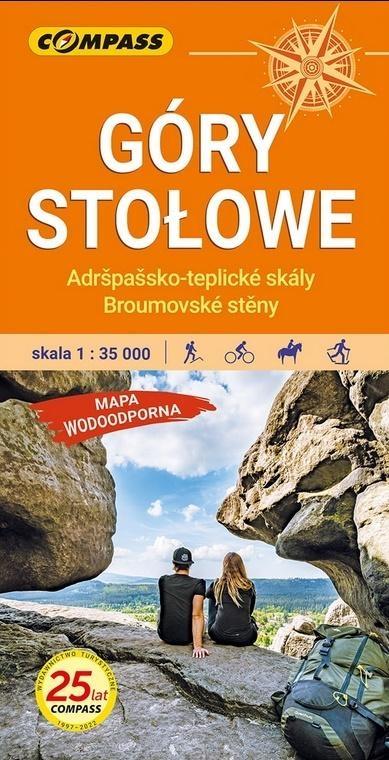 Mapa tur. - Góry Stołowe 1:35 000 laminat w.4 praca zbiorowa