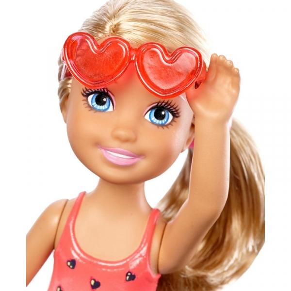 Barbie Chelsea i Przyjaciółki Plażowa (DWJ33/DWJ34)
