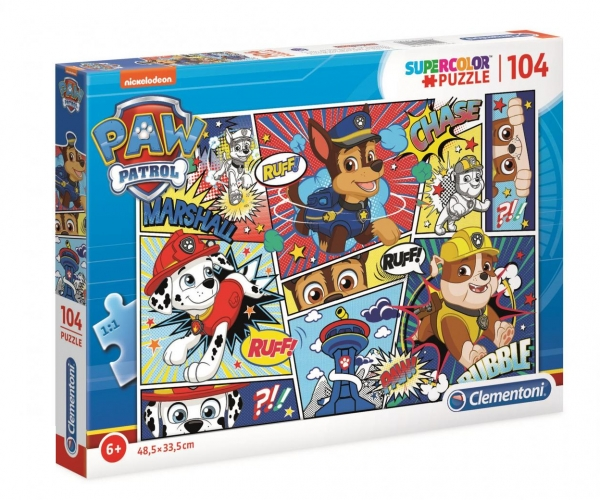 Puzzle SuperColor 104: Psi Patrol (27261)