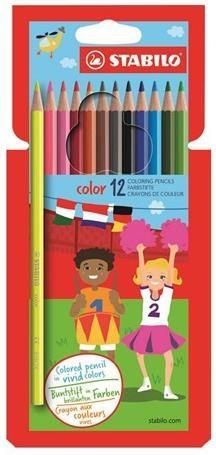 Kredki Color 18 kolorów Stabilo