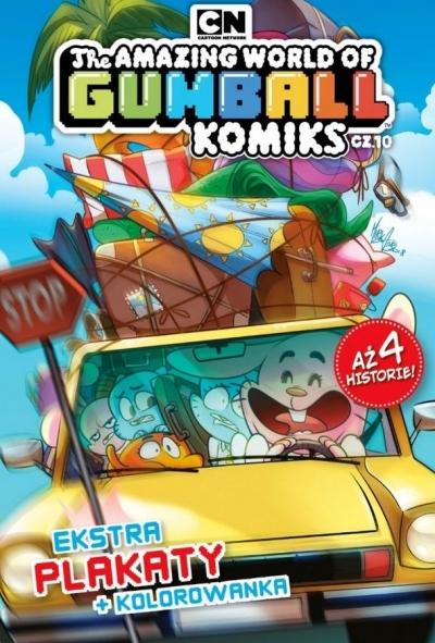 The Amazing World of Gumball Komiks T.10 praca zbiorowa