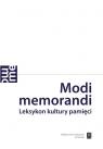 Modi memorandi Leksykon kultury pamięci