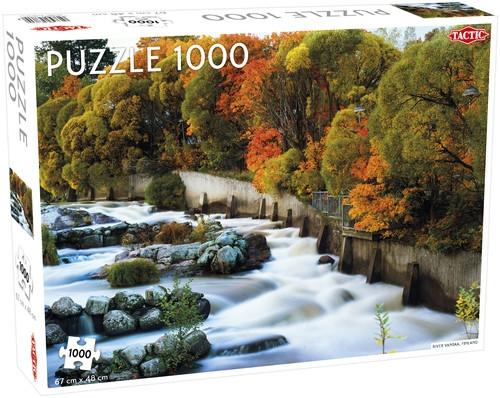 Puzzle 1000: Rzeka Vantaa, Finlandia