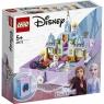 Lego Disney Princess: Książka z przygodami Anny i Elsy (43175) Wiek: 5+