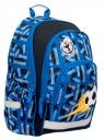 Hama, plecak szkolny - Blue Soccer (183857)