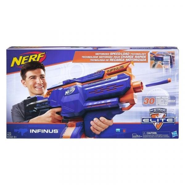 Wyrzutnia Nerf N-Strike Elite Infinus (E0438). od 8 lat