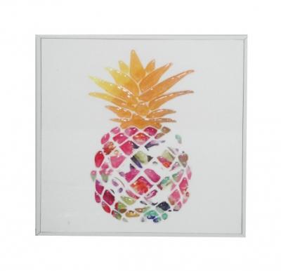 Obraz z ananasem 20x20