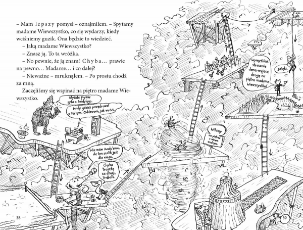 91-piętrowy domek na drzewie Andy Griffiths, Terry Denton