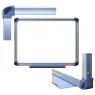 Tablica suchościeralno-magnetyczna Memoboards w ramie aluminiowej modern 150x100cm (TM1510ALM MB)