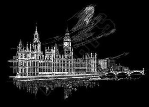 Wydrapywanka Big Ben i Parlament