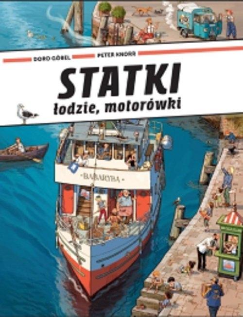 Statki łodzie motorówki Gobel Doro, Knorr Peter
