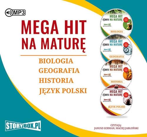 Pakiet Mega hit na maturę Biologia Geografia Historia Język polski