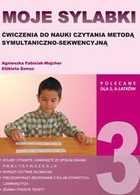Moje sylabki - wczesna nauka czytania metodą symultaniczno-sekwencyjną. Zestaw 3 Agnieszka Fabisiak-Majcher, Elżbieta Szmuc