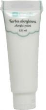 Farba akrylowa, 120 ml - titanium white (DPFA-050)