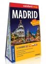 Madryt (Madrid) comfort! map kieszonkowy laminowany plan miasta