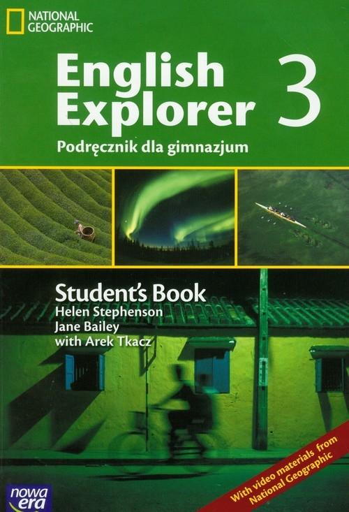 English Explorer 3 podręcznik Stephenson Helen, Bailey Jane, Tkacz Arek