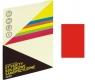 Etykieta samoprzylepna Grand czerwona
