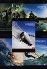 Zeszyt A5 Top-2000 w linie 60 kartek Extreme Sport mix