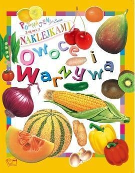 Owoce i warzywa Naklejki