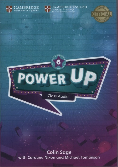 Power Up 6 Class Audio CDs Sage Colin, Nixon Caroline, Tomlinson Michael