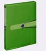 Teczka na guzik Herlitz Easy Orga A4 zielona (11292968)