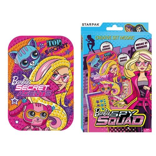 Zestaw kreatywny Barbie Spy Mozaika 14,5x21 cm
