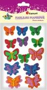 Naklejki piankowe motylki 13 sztuk