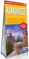 Karkonosze laminowany map&guide XL 2w1: przewodnik i mapa