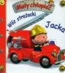 Wóz strażacki Jacka Mały chłopiec