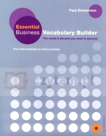 Essential Business Vocabulary Builder Pack Paul Emmerson