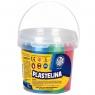 Plastelina Astra w wiaderku, 6 kolorów (303106001)