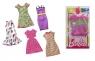 BARBIE Modna sukienka mix wzorów (FCT12)