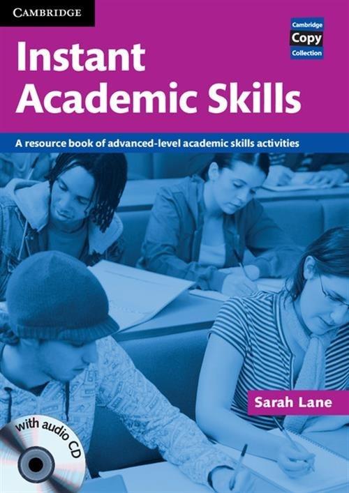 Instant Academic Skills with Audio CD Sarah Lane