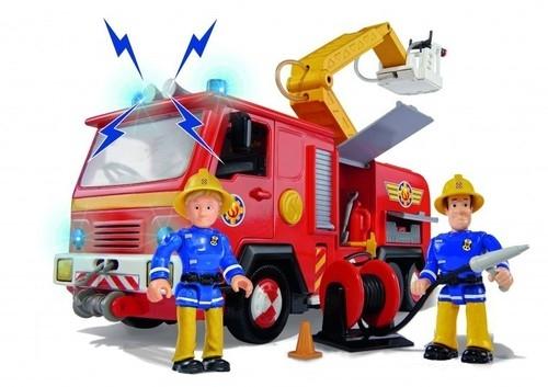 Strażak Sam wóz strażacki z figurkami (Uszkodzone opakowanie)