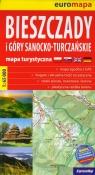 Bieszczady i Góry Sanocko-Turczańskie mapa turystyczna 1:65 000