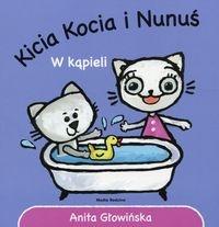 Kicia Kocia i Nunuś W kąpieli (Uszkodzona okładka) Głowińska Anita