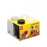 Lego, zestaw pojemników 3w1 - Szare (40140009)