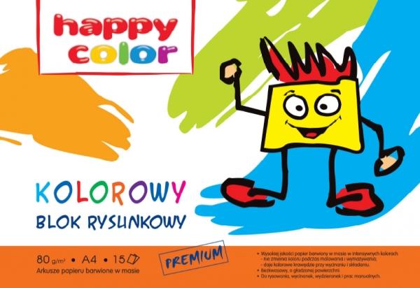 Blok rysunkowy A4/15 - kolorowy (HA 3708 2030-09)