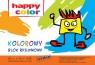 Blok rysunkowy A4/15 - kolorowy (HA 3708 2030-09)80g/m2