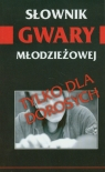 Słownik gwary młodzieżowej
