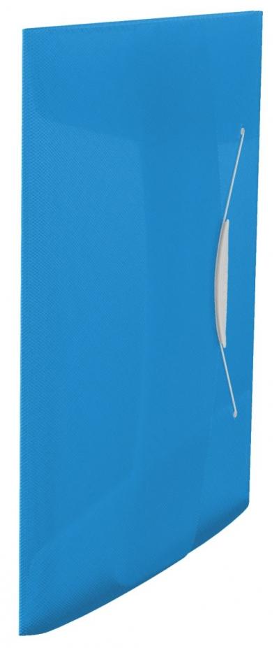 Teczka plastikowa na gumkę Esselte Vivida 15 A4 kolor: niebieski 233 mm x 320 mm (624040)